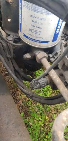 Кран масловлагоотделителя (разгрузка) Mercedes Axor