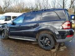 Комплект задних стекол Mercedes GL X164